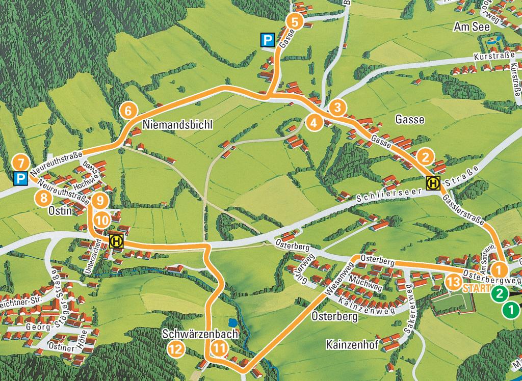 Zweiter_Gmunder_Weg_Karte